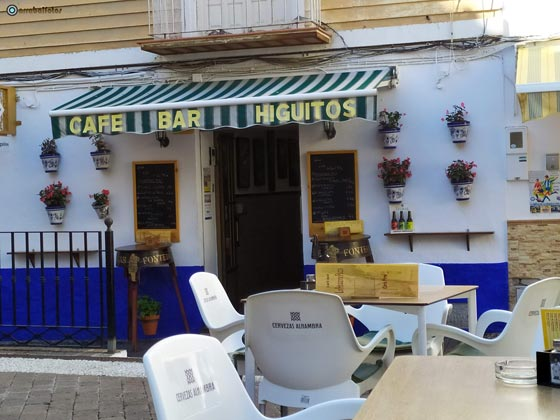 Bar Los Higuitos, un sito   estupendo para desayunar y tapear en Almuñécar