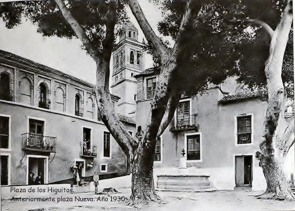 Plaza de Los Higuitos de Almuñécar en el año 1930