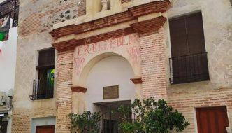 Fachada del Convento de la orden religiosa de Mínimos